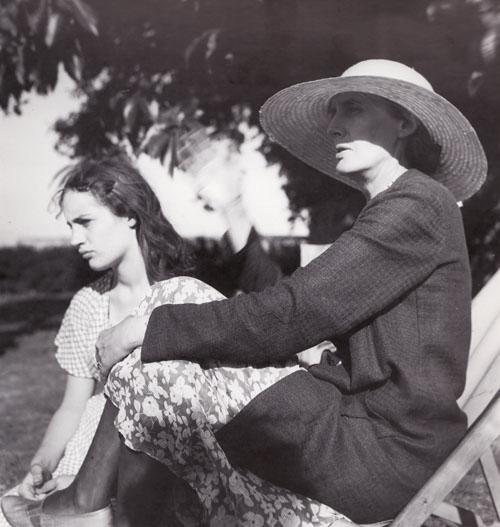 Angelica Garnett con la zia Virginia Woolf