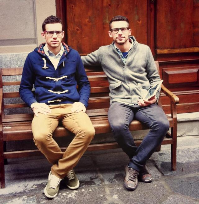 Valentino  e Andrea Pini