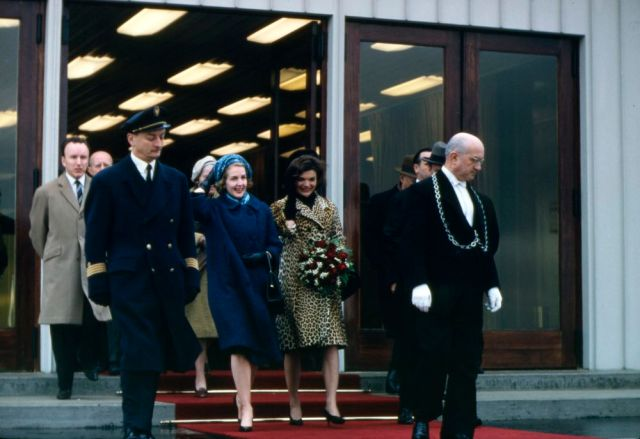 Jackie Kennedy arriva a Roma, 11 marzo 1962