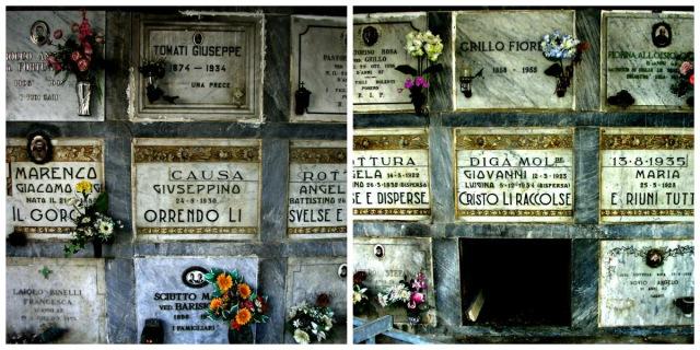 collage cimitero