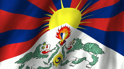 stock-footage-a-beautiful-satin-finish-looping-flag-animation-of-tibet-a-fully-digital-rendering-using-the
