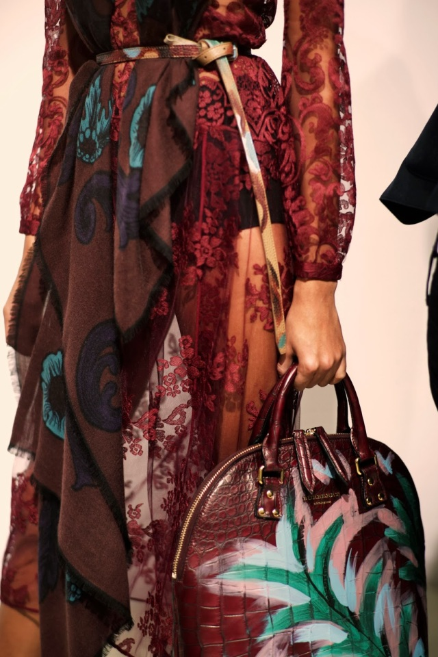 Backstage at the Burberry Prorsum Womenswear Autumn_Winter 2014 Show in Londo_010