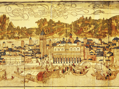 adam-woolfitt-early-panorama-of-venice-dating-from-the-15th-century-sansovino-library-venice-veneto-italy