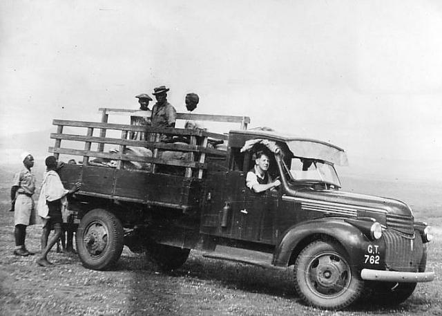 Il furgone su cui viaggiarono Marjorie e John