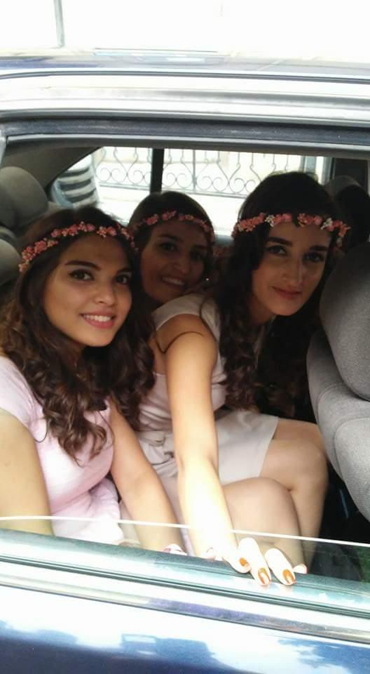 Flower Girls in Baku