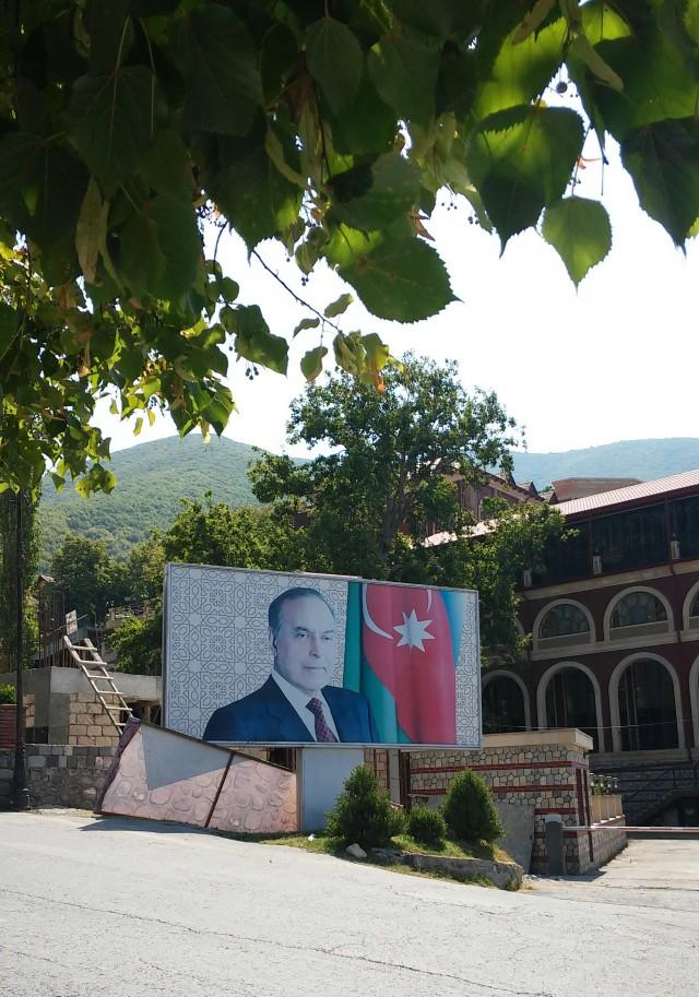 Presidente Hyedar Aliyev Shaki, Azerbaijan