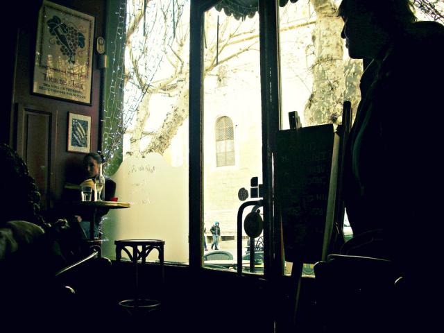 Café de Paris, Isle Sur La Sorgue, Provence