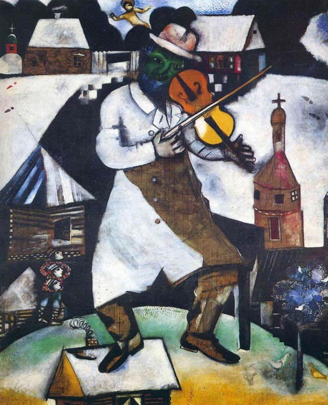 Marc Chagall, Il violinista, 1912-1913, Stedelijk Museum, Amsterdam