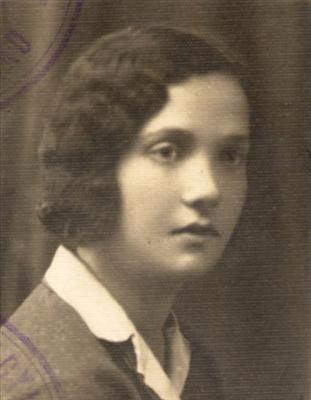 Chaia Karlinska nata a Bialystock il 9/12/1912 da Moisè e Freyda Zylberger