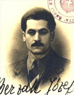 Jozef Berzak Nato a Wilno (Polonia) il 6/9/1910 da Chonel e Frejda Gisia.