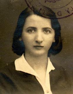 Lora Forcht nata a Pomorzany il 11/2/1910 da Moise e Ruchla Reiss