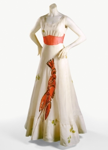 abito-aragosta-lobster-dress-elsa-schiaparelli-wallis-simpson-tbizart