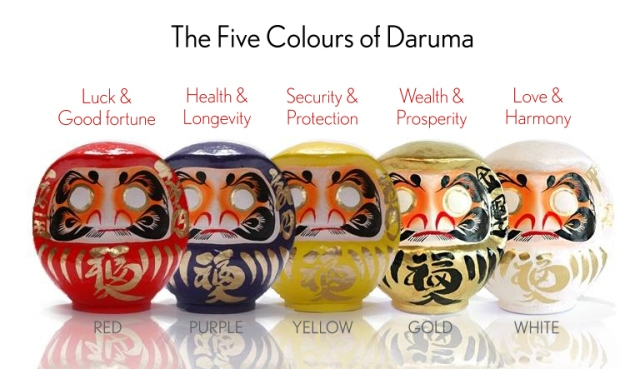 Daruma_Doll_Five_Colors